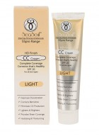 SeaSoul HD Finish CC Cream With SPF 20 - Light