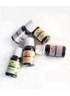 Soil Fragrances Set of 5 Aroma Oils (Jasmine, Lotus, Rose, Strawberry & Lemon Grass)
