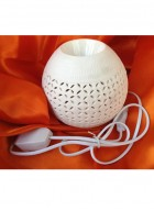 Soil Fragrances White Electric Round Diffuser