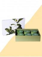 The Tea Shelf Ebony Box- A Gift of 6 Black Teas for the Bold and the Beautiful