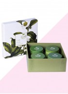 The Tea Shelf Pamper Me Box- A Gift of 4 Soothing Teas For The Never Ending Festivities