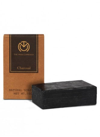 The Man Company Charcoal Soap Bar (Pack of 2)