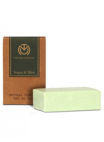 The Man Company Agran and Mint Soap Bar (Pack of 2)