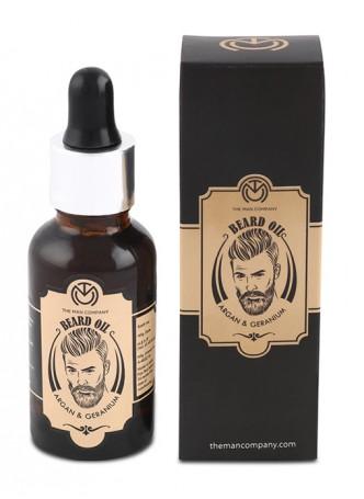 The Man Company Beard Oil Argan and Geranium