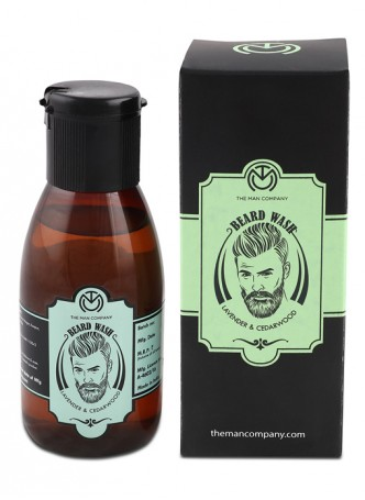 The Man Company Beard Wash Lavender and Cedarwood