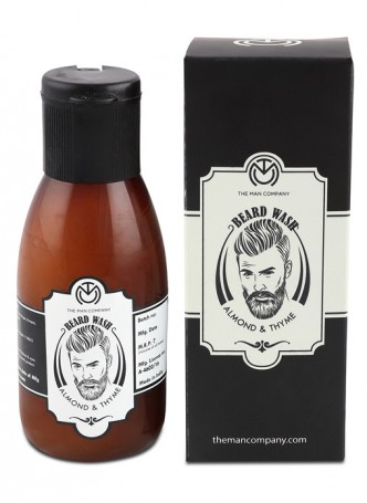 The Man Company Beard Wash Almond and Thyme