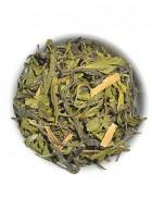 The Tea Shelf Organic Cinnamon Hand Rolled Green Tea-Loose Leaf Tea