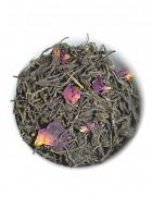 The Tea Shelf Organic Rose Green Tea-Loose Leaf Tea