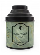 The Cha House Rose Flavoured Black Loose Leaf Tea (Pack of 2)