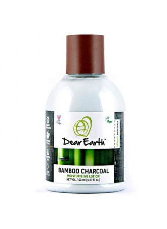 Dear Earth Bamboo Charcoal Nourishing Lotion