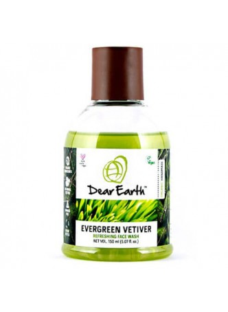 Dear Earth Evergreen Vetiver Refreshing Face Wash