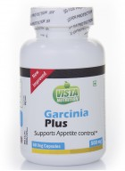 Vista Nutrition Garcinia Plus 500mg – 60 veg capsules