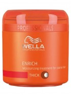 Wella Enrich Moisturizing Treatment Mask for Dry and Damaged Hair - 150ml