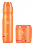 Wella Professional Enrich Moisturizing Treatment Shampoo And Masque - Combo