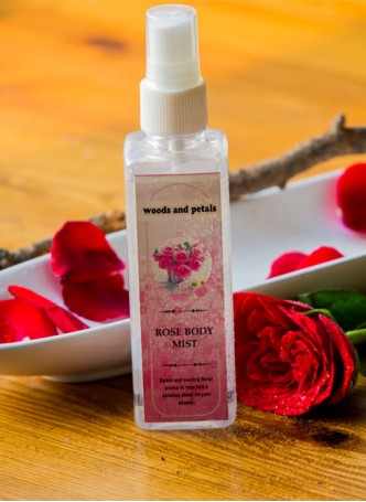 Woods & Petals Rose Body Mist