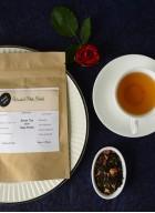 Woods and Petals Darjeeling Green Tea with Rose Petals Loose-100gm (Pack of 2)