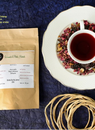 Woods and Petals Rose Hibiscus Tea (Pack of 2)
