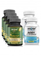 Wow Garcinia Combo With Wow Body Cleanse Booster