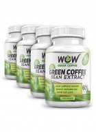 Wow Green Coffee Bean Extract - Pack Of 4