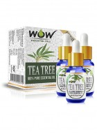 Wow Essential Tea Tree Oil - 45 ml - Pack Of 3