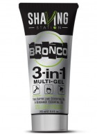 Shaving Station - Bronco 3 in 1 Gel ((Pack of 2)