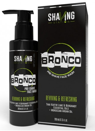 Shaving Station by WOW - Bronco Pre Shave Face Wash - 200ml