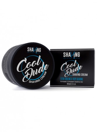 Shaving Station by WOW - Cool Dude Shaving Cream - 200ml