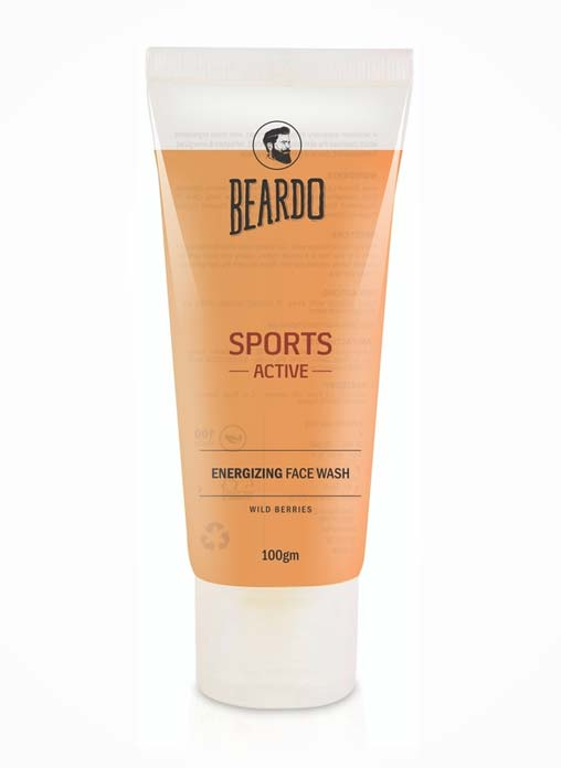 Beardo Sports Active Energizing Men's Face Wash
