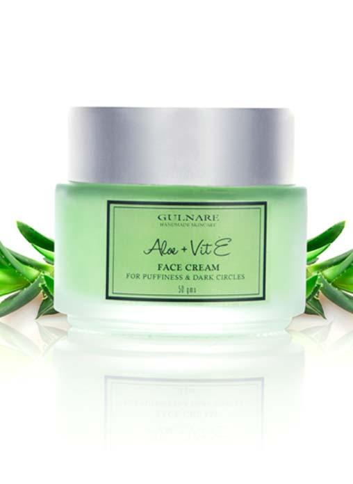 Gulnare Skincare Aloe and Vitamin E Face and Under Eye Cream