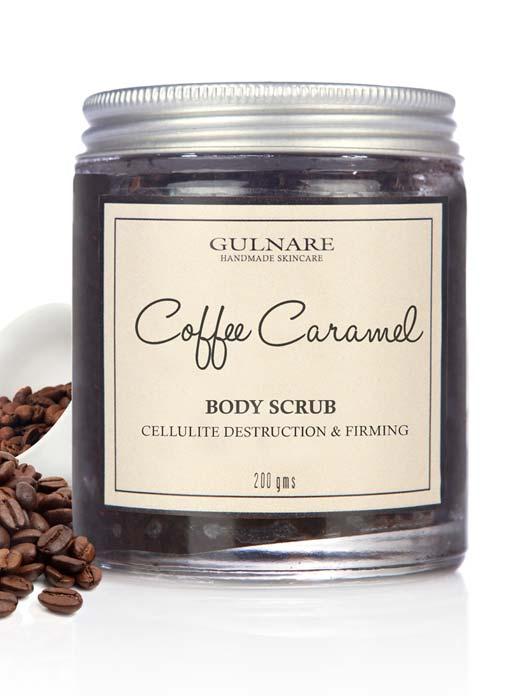 Gulnare Skincare Coffee Caramel Body Scrub