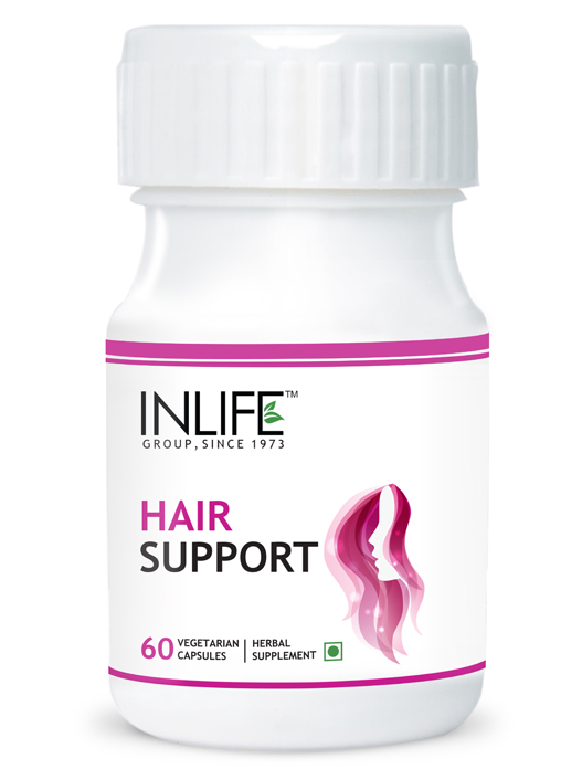Inlife Hair Support Supplement (60 Veg. Capsules)