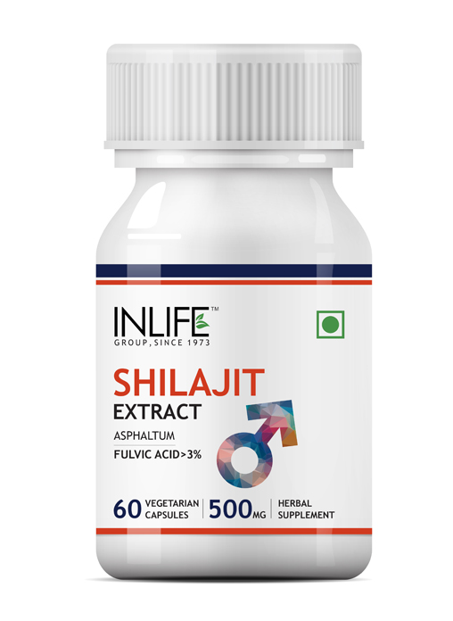 Inlife Shilajit Extract, 500mg