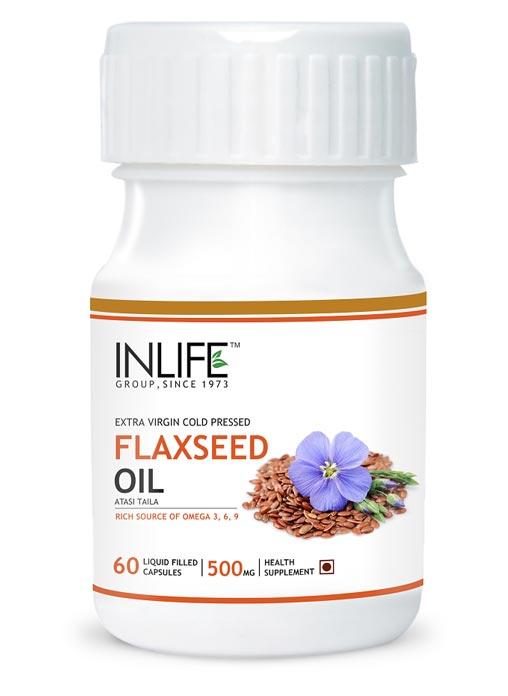 Inlife Omega 369 - Flaxseed Oil 60 Capss