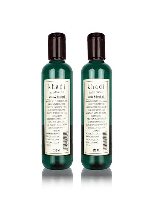 Khadi Natural Amla and Brahmi Hair Oil