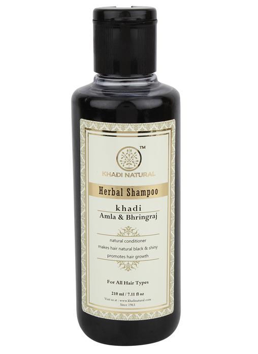 Khadi Natural Herbal Amla and Bhringraj Shampoo
