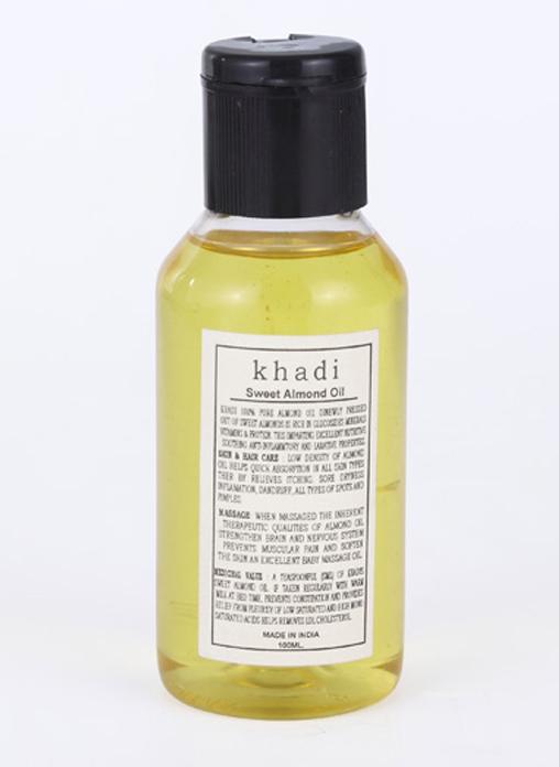 Khadi Natural Sweet Almond Oil - 100ml