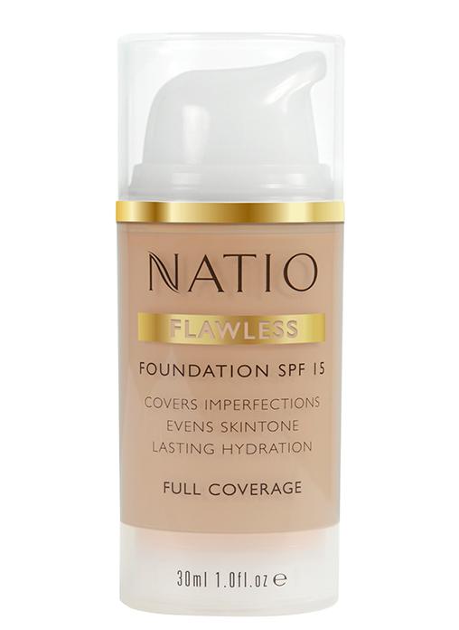 Natio Flawless Foundation SPF 15 Medium