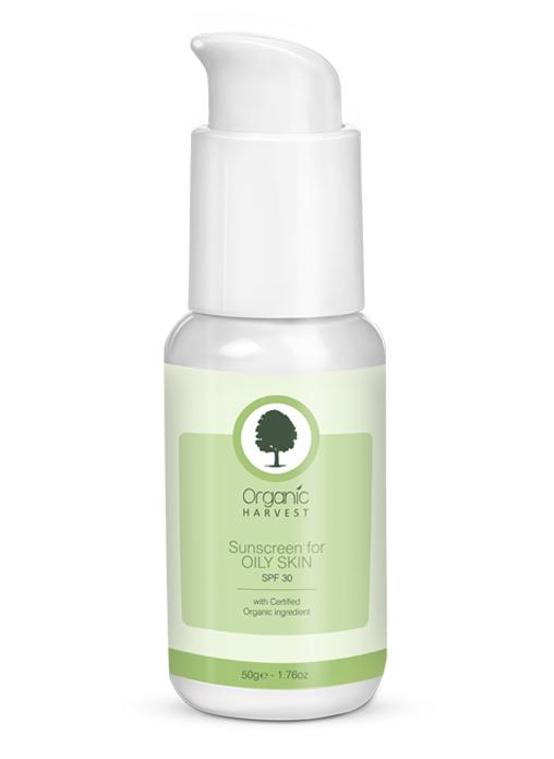 Organic Harvest Sunscreen For Oily Skin