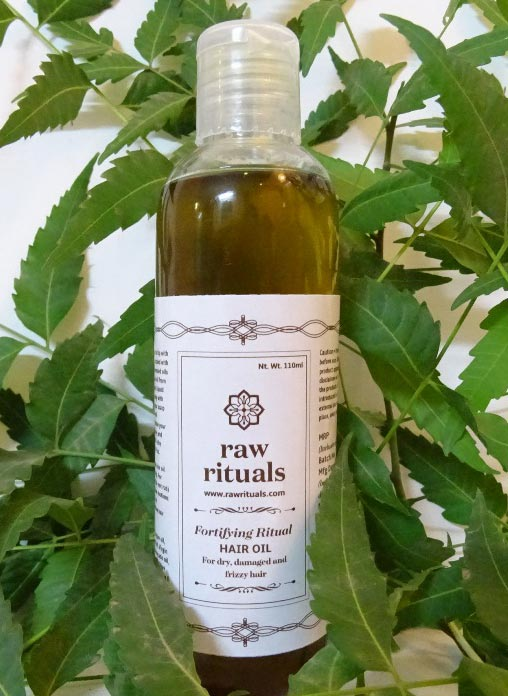Raw Rituals Fortifying Ritual - For Dry, Damaged and Frizzy Hair