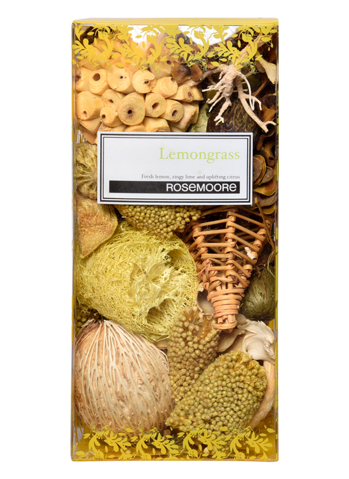 Rosemoore Multi Colour Lemongrass Box Scented Pot Pourri