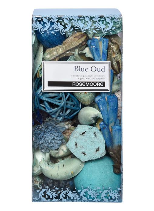 Rosemoore Multi Colour Blue Oud Box Scented Pot Pourri