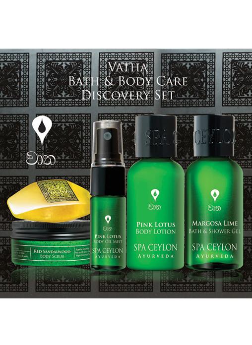 Spa Ceylon Bath And Body Care Discovery Set-Vatha