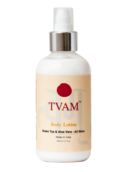 Tvam Body Lotion - Green Tea and Aloe vera for All Skins