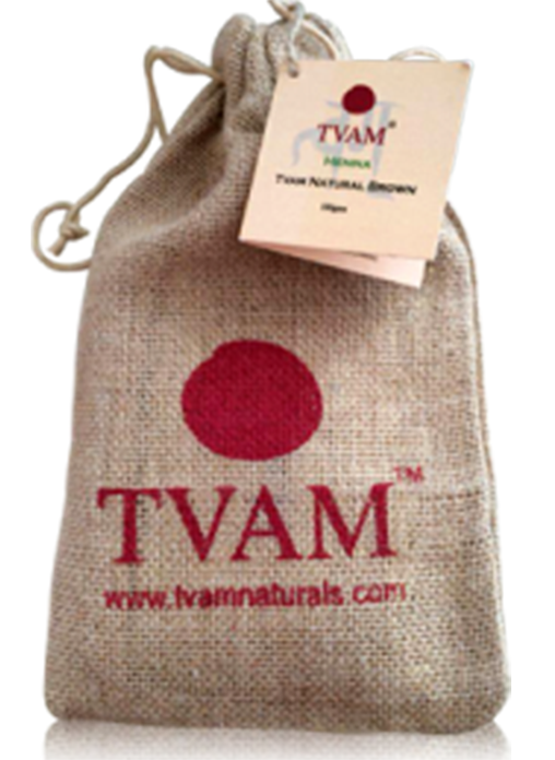 Tvam Henna - Natural Brown (Hair color)