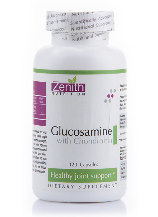 Zenith Nutritions Glucosamine With Chondroitin