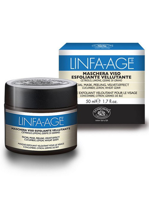 Bottega Di Lungavita Linfa Age Peeling Velvet Effect Facial Mask