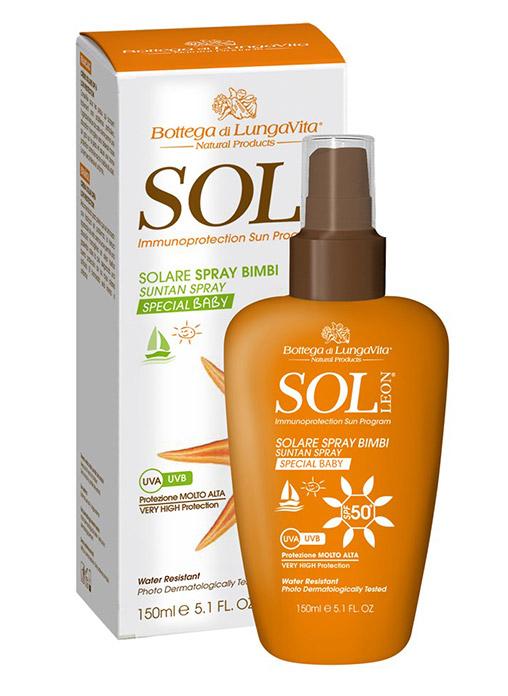 Bottega Di Lungavita SOL LEON Suntan Spray SPF 50