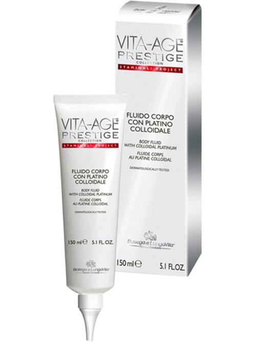 Bottega Di Lungavita VITA AGE Prestige Body Fluid with Colliadal Platinum