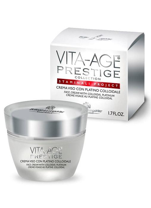 Bottega Di Lungavita VITA AGE Prestige Face Cream with Colliadal Platinum