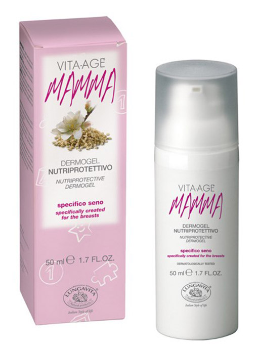 Bottega Di Lungavita Vita Age MAMMA Nutriprotective Dermogel  for breast care during pregnancy and breastfeeding